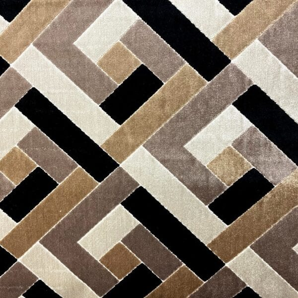 Zazie - Onyx- Designer Fabric from Online Fabric Store