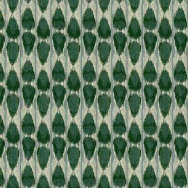 Dubai Ikat - Spruce- Designer Fabric from Online Fabric Store