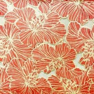 Irinia - Punch- Designer Fabric from Online Fabric Store
