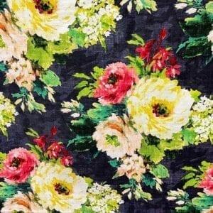 Meraki - 948 Charcoal- Designer Fabric from Online Fabric Store