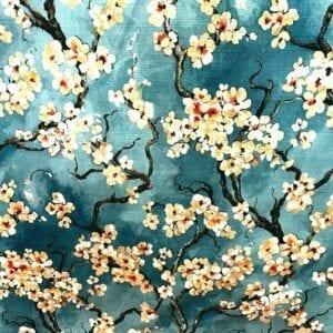 Sakura - 504 Azure- Designer Fabric from Online Fabric Store