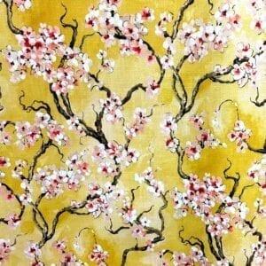 Sakura - 805 Curry- Designer Fabric from Online Fabric Store