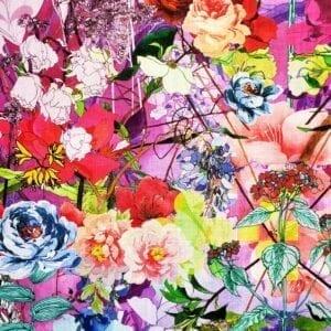 Bloomsbury - Multi- Designer Fabric from Online Fabric Store