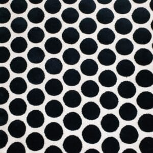Buttons - Black- Designer Fabric from Online Fabric Store