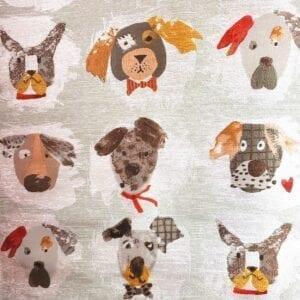 Dogaholic - Bark- Designer Fabric from Online Fabric Store