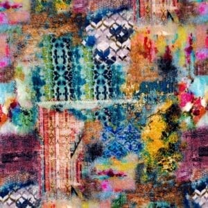 Swan Song - Carnival- Designer Fabric from Online Fabric Store