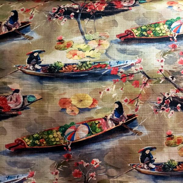Bangkok - Spice- Designer Fabric from Online Fabric Store