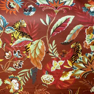 Bengale - Terracotta- Designer Fabric from Online Fabric Store